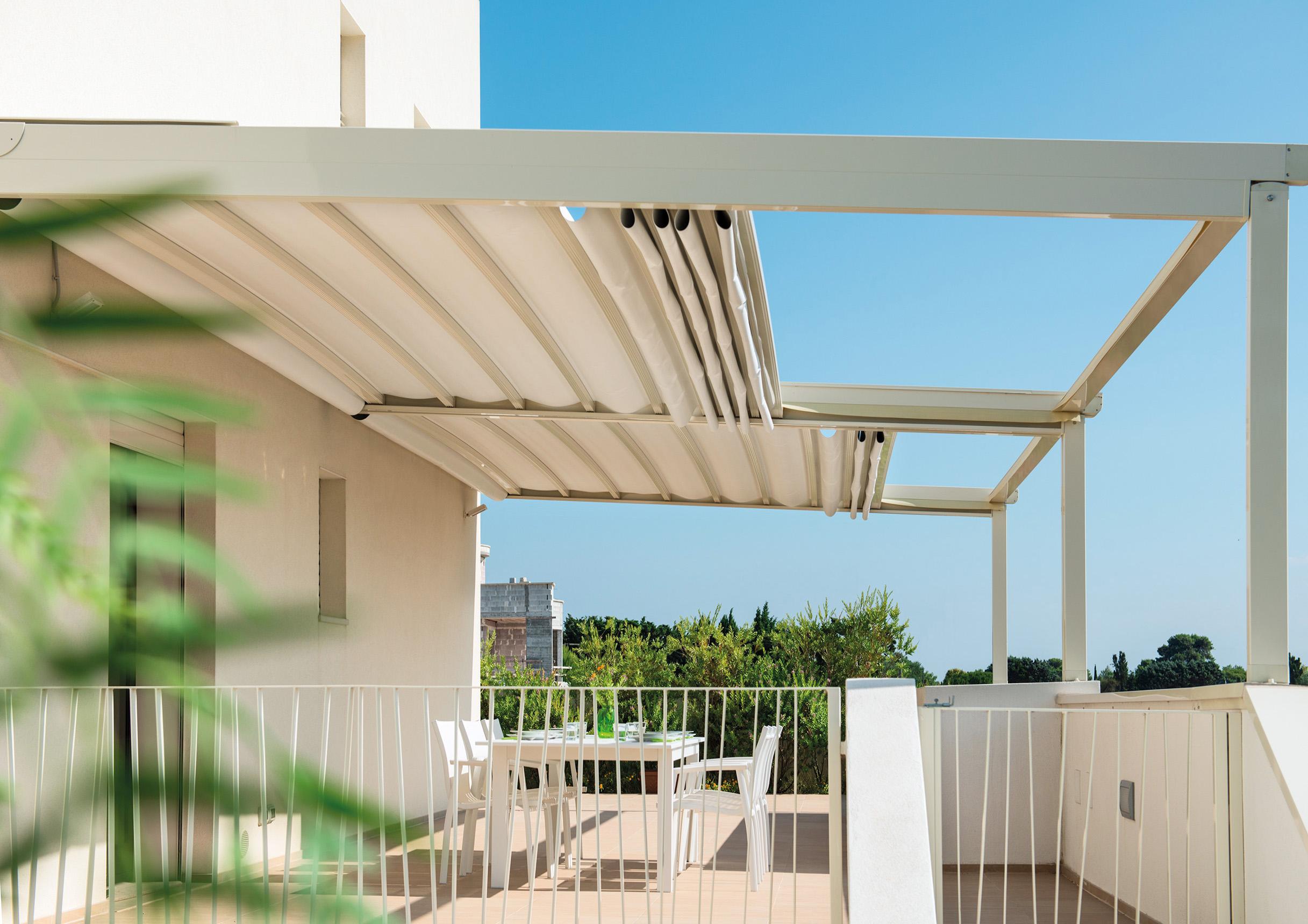 متحرک،سقف جمع شونده،سقف اتوماتیک، سقف برقی 1 - سایبان و سقف متحرک (برقی)