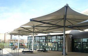 Shakespeare and Primrose School multi conic tensile fabric canopy by Fordingbridge 1 300x192 - Shakespeare-and-Primrose-School-multi-conic-tensile-fabric-canopy-by-Fordingbridge-1