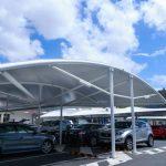 car parking fabric shade 150x150 - سایبان پارکینگ پارچه ای