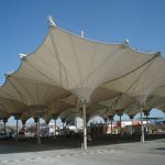 tensile structure 500x500 150x150 - سازه کششی مبلمان شهری و آمفی تئاتر