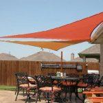 594 Right triangle shade sails 150x150 - سایبان پارچه ای رستوران و کافی شاپ
