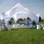 Nivea Oxygen Event Exterior Dome Canopy 02 Tensile Fabric 150x150 - سازه پارچه ای نمایشگاه ، استیج و خیمه