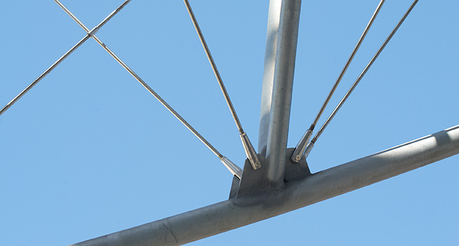 architectural adjuster fork photo - مقاله معرفی سازه های چادری