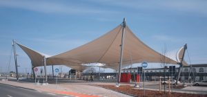fabric roof structure busstation wittenberg 300x140 - YMCK TIFF