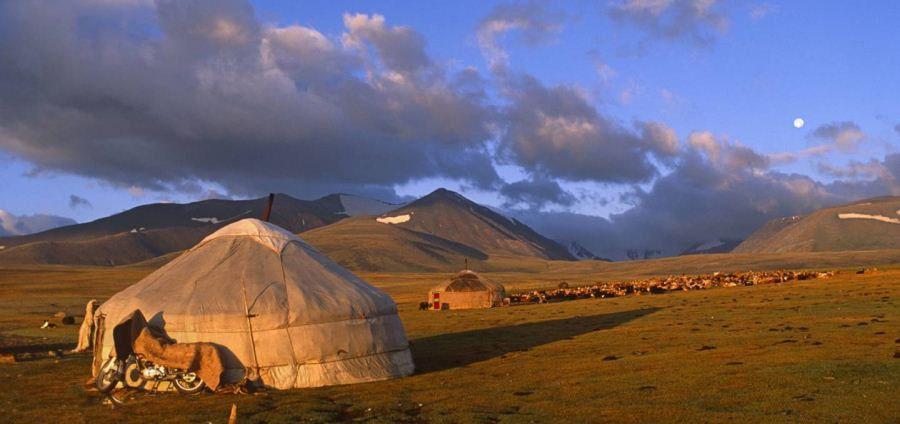 تاریخچه سازه های چادری