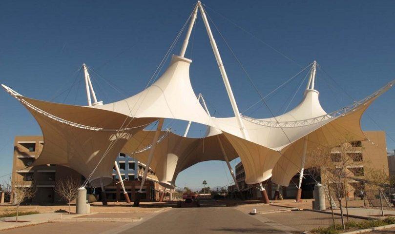 کاربرد سازه چادری
