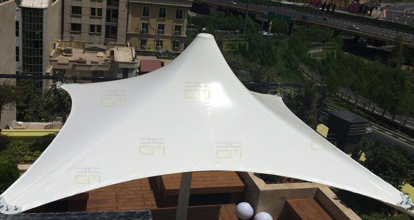 ساخت سازه چادری