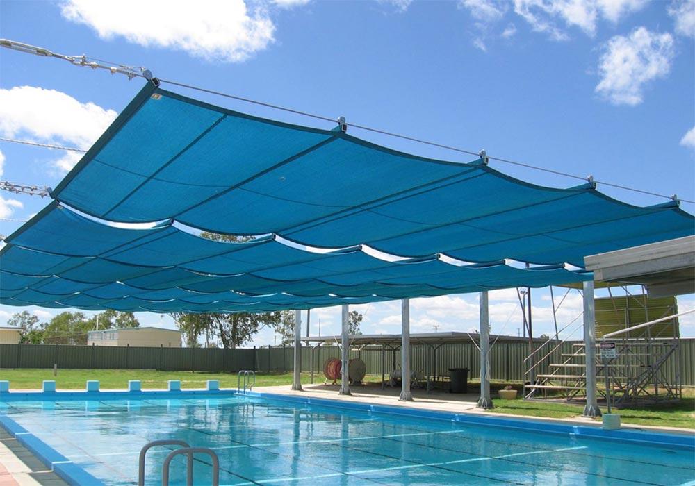 1 - کاربرد سازه های چادری