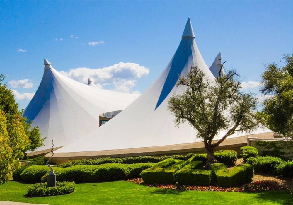 15 - سازه های چادری کششی