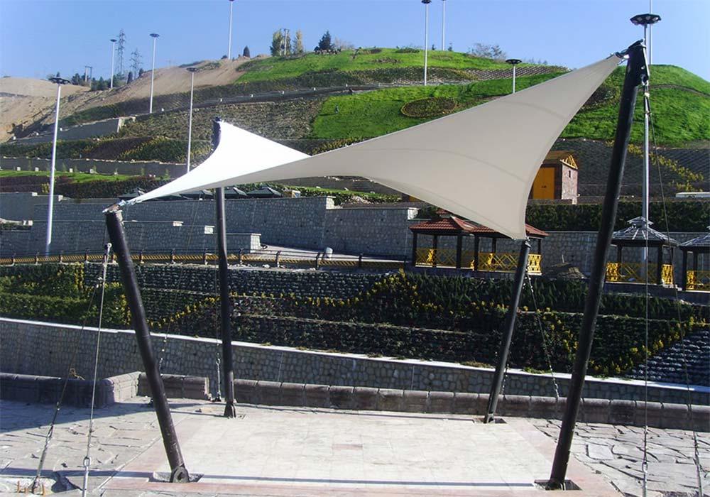 21 - سازه های چادری درمعماری