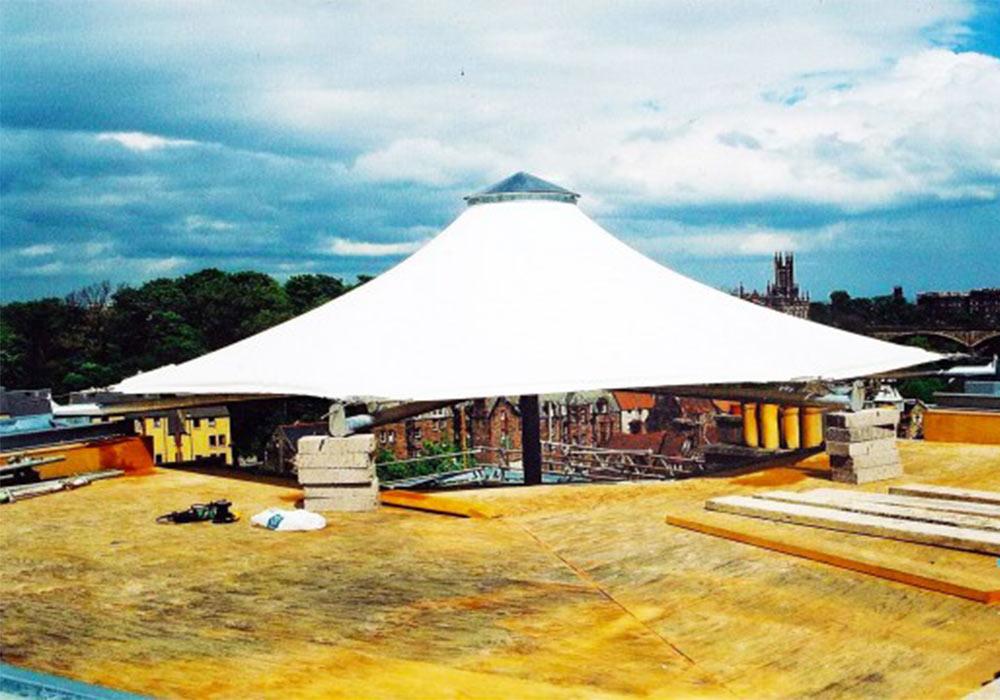 25 - انواع سازه های چادری