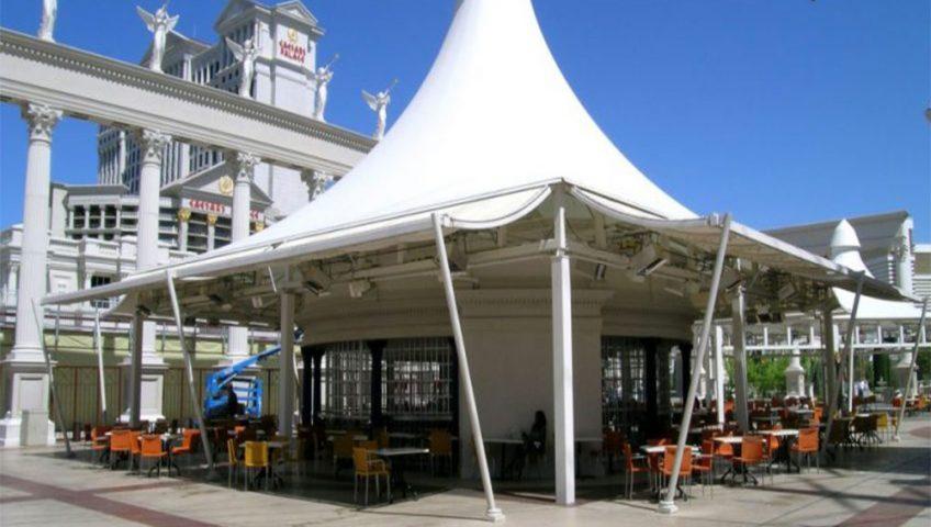 کاربرد سازه های چادری