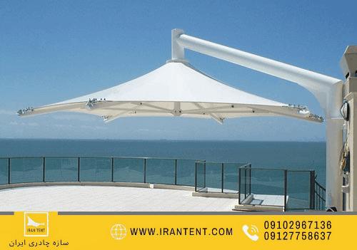 استخر 18 - 20 نکته درباره طراحی و اجرای سقف استخر روباز و سایبان استخر